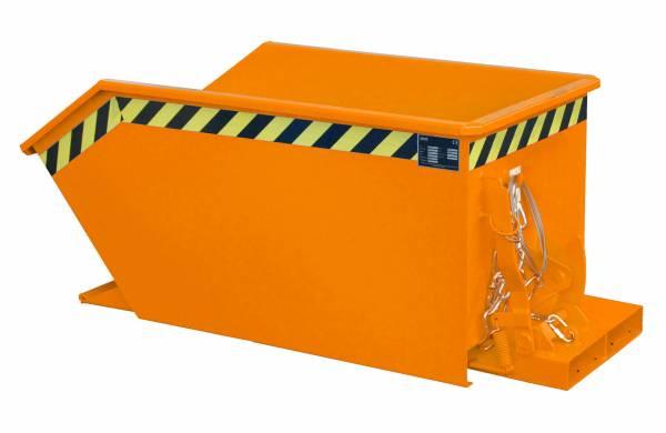Bauer Anbaugeräte Kippbehälter Typ GU 300 für Gabelstapler – lackiert RAL 2000