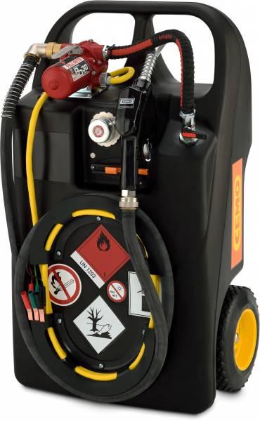 Kraftstofftrolley 60 Liter mit Elektropumpe