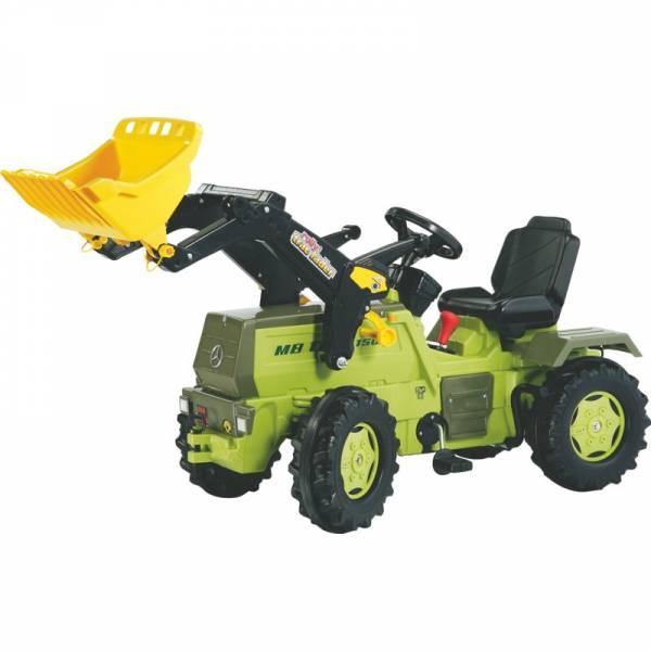 Trettraktor mit Frontlader von Rolly Toys Modell FARMTRAC PREMIUM MB 1500 zusätzlich mit Schaltung und Bremse