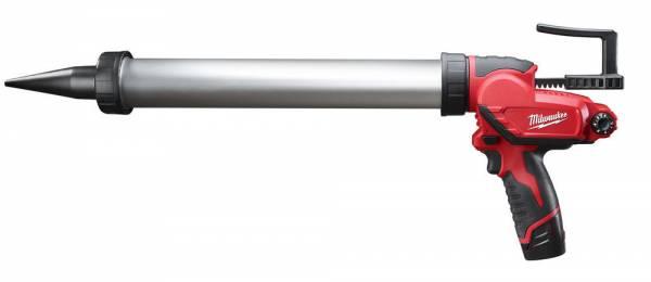 Milwaukee Kartuschenpresse mit M12-Volt-Akku für Folienbeutel