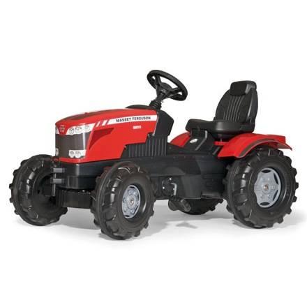 Rolly Toys Farmtrac Trettraktor für Kinder – MASSEY FERGUSON 8650 mit Sitzverstellung