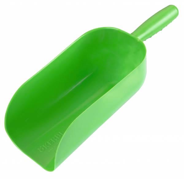 Futterschaufel KERBL aus grünem Kunststoff