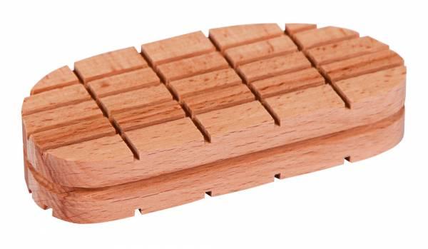 Holzklotz Standrad für die moderne Klauenpflege