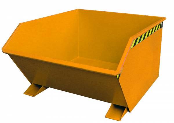 Bauer Anbaugeräte Kippbehälter Typ GU 1000 für Gabelstapler – lackiert RAL 2000