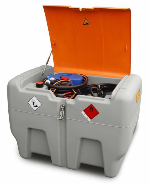 DT-Mobil Easy COMBI 440/50 Liter mit 12-V-Elektropumpe CENTRI SP30 und Klappdeckel