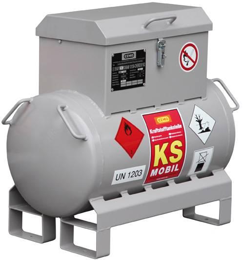 Mobile Benzintankanlage KS-Mobil mit Handpumpe 90 Liter