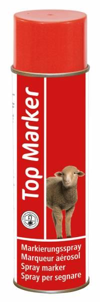 Schafmarkierungsspray TopMarker in rot