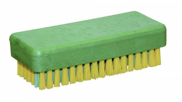 Handwaschbürste grün / gelb