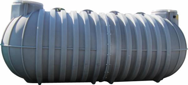 DURAplas Erdtank horizontal mit 35.000 Liter Inhalt