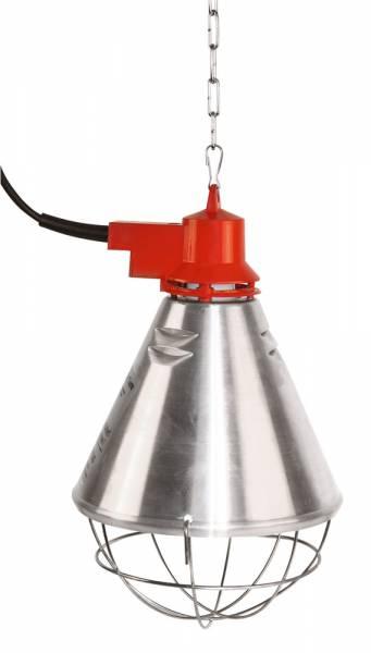 Profi-Wärmestrahlgerät mit Alu-Schirm und Befestigungskette