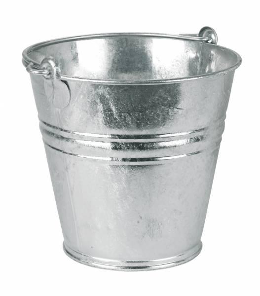 Wassereimer aus Metall verzinkt