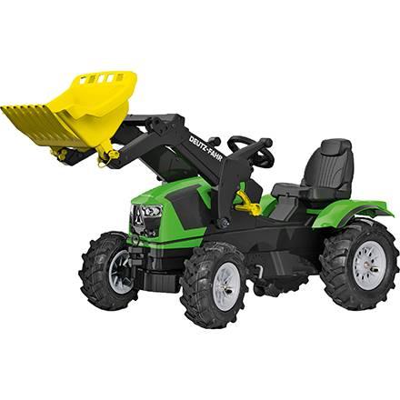 Rolly Toys Farmtrac Trettraktor DEUTZ FAHR 5120 mit Trac Lader und Luftreifen
