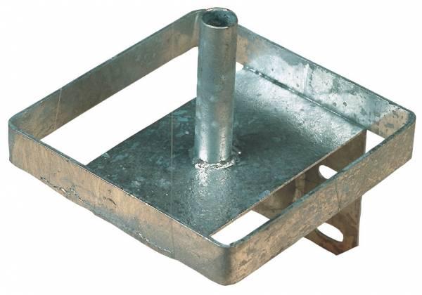 Lecksteinhalter aus Metall – verzinkte Ausführung