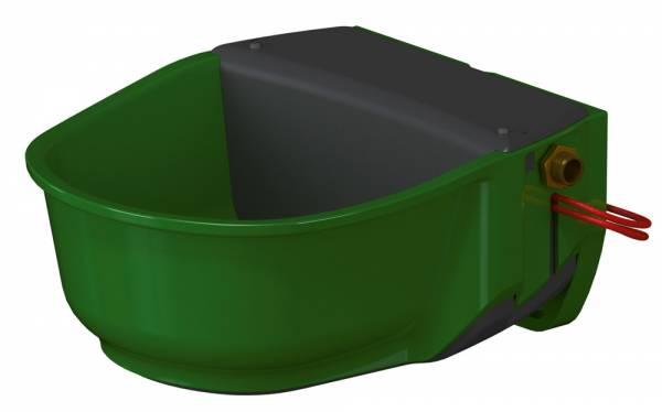 Heizbares Schwimmer-Tränkebecken SH30 aus Kunststoff mit integriertem Heizkabel