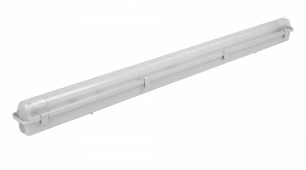 Feuchtraum-Wannenleuchte für LED-Röhre – Lieferung ohne Leuchtmittel