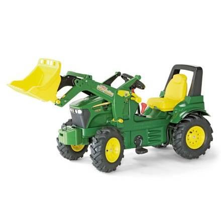 Rolly Toys Farmtrac Premium JOHN DEERE 7930 mit Frontlader und Luftbereifung, Schaltung und Bremse