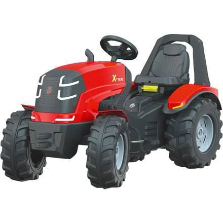 Trettraktor Rolly Toys X-Trac Premium mit Sitzverstellung und Flüsterreifen
