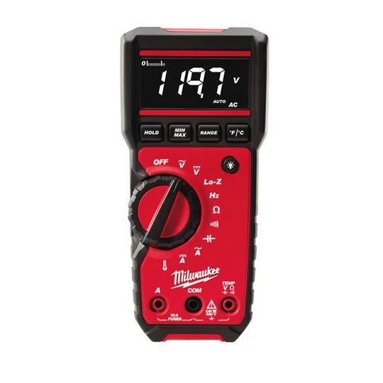 Milwaukee Digital-Multimeter 2217-40 optimiert für Elektriker