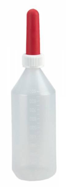 Kälber-Milchflasche rund 1 Liter