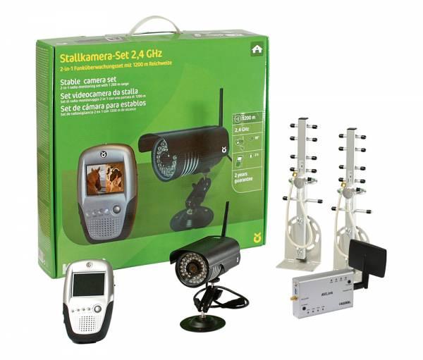 Stall- und Anhängerkamera-Set 2.4 GHz