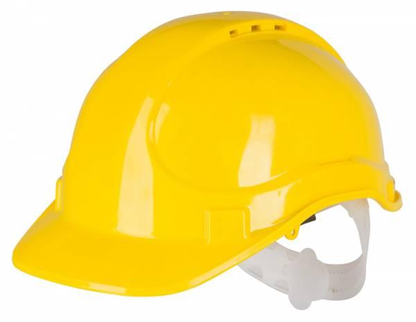 Schutzhelm in gelb – Umfang 55 bis 62 cm