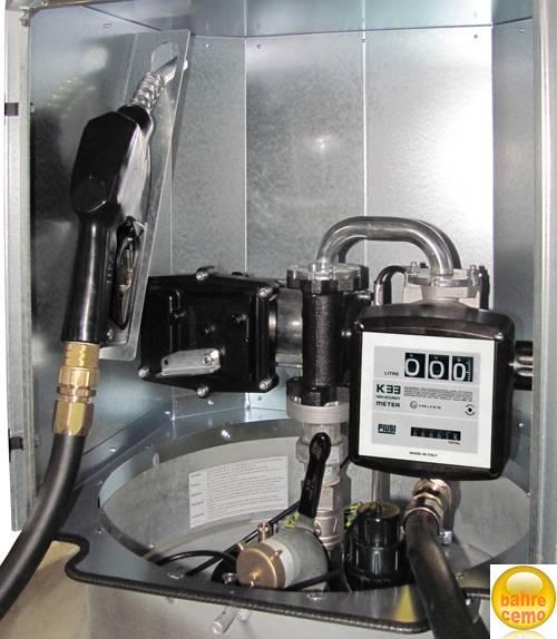 Elektropumpe ATEX, 230 V, mit Zähler, für Kraftstoffanlagen