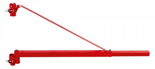 Schwenkarm-Halterung für elektrische Seilwinden