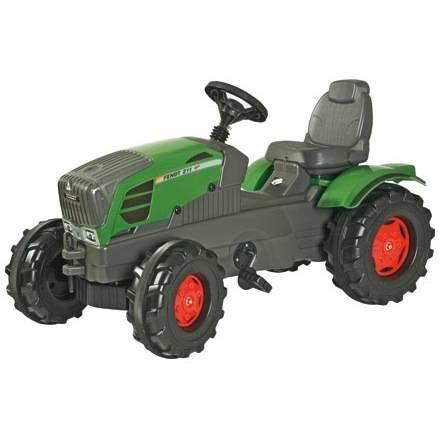 Rolly Toys Farmtrac Tretfahrzeug für Kinder – FENDT 211 VARIO mit Sitzverstellung