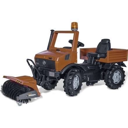 Rolly Toys Farmtrac Classic Kommunal Unimog mit Kehrnaschine und Sitzverstellung