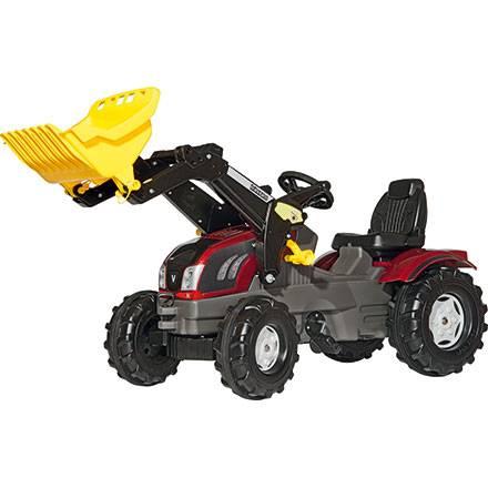 Rolly Toys Farmtrac VALTRA – mit Frontlader und Motorhaube zum Öffnen