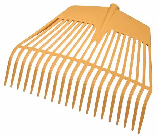 Laubrechen aus Kunststoff in zwei Breiten (45 und 60 cm) verfügbar
