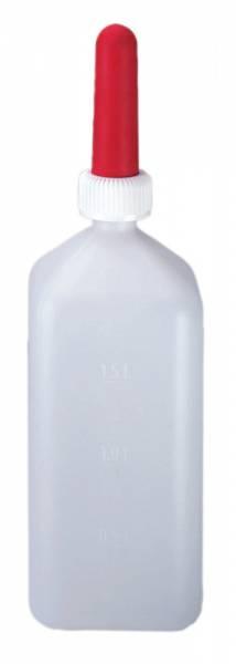 Kälber-Milchflasche eckig 2 Liter
