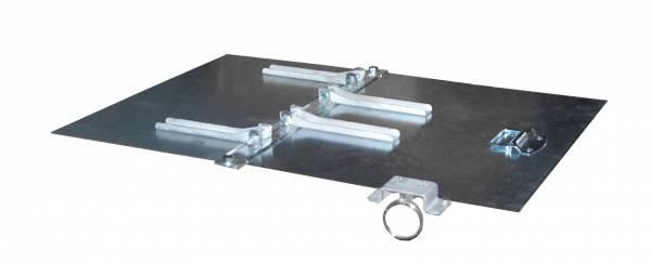 BAUER Deckel verzinkt für Kippbehälter TYP EXPO 150 – 2teilig