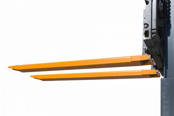 Bauer Gabelverlängerung TYP GG 2000 mm – geschlossene Ausführung für Anbau an Gabelstapler