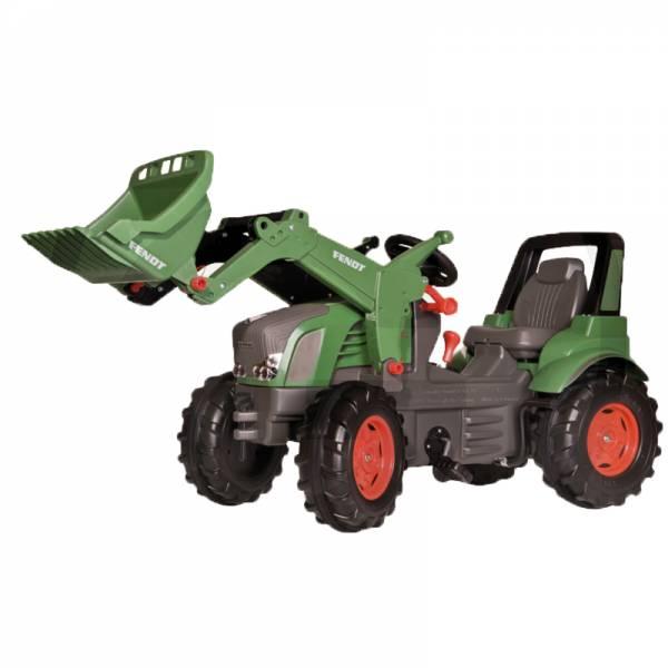 Rolly Toys Farmtrac PREMIUM Tretfahrzeug – FENDT 939 VARIO mit Frontlader, Schaltung und Bremse