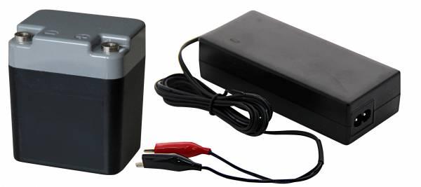 Abb ähnlich: Batterie 12-Volt und Ladegerät