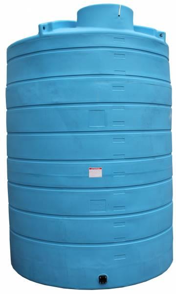 DURAplas Wasserbehälter 15.000 Liter mit Versteifungsringen und Hebeösen
