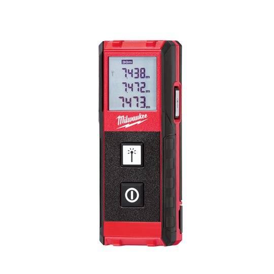 Milwaukee Laser-Entfernungsmesser LDM 30 mit LCD Display