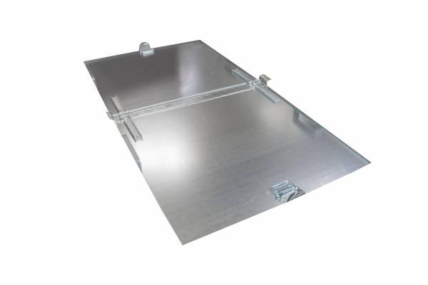 BAUER Deckel verzinkt für Klappbodenbehälter TYP FB 1000 bis 2000 – 2teilig