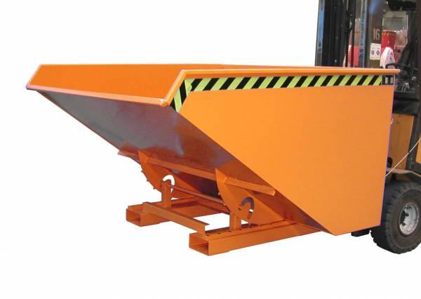 Bauer Anbaugeräte Kippbehälter Typ EXPO 1200 für Gabelstapler – lackiert RAL 2000