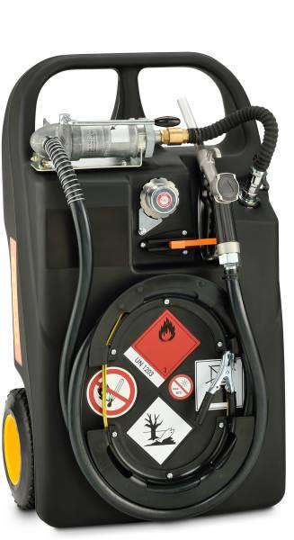 Kraftstofftrolley 60 Liter mit Handpumpe und Ex0-Schutz