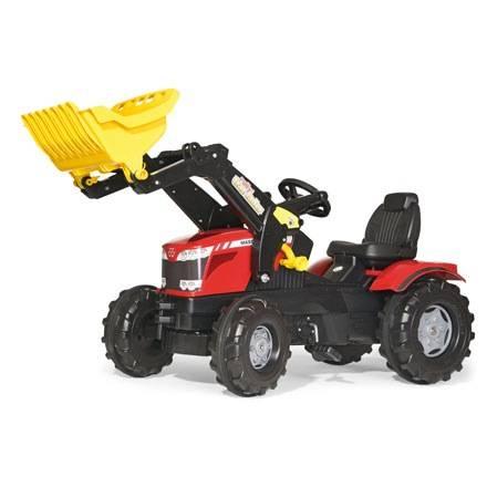 Rolly Toys Farmtrac Trettraktor MASSEY FERGUSON 8650 mit Trac Lader
