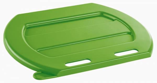 Deckel für Tränke-Eimer aus grünem Kunststoff