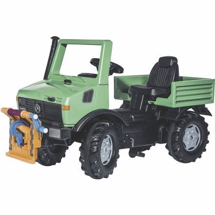Spielen wie im echten Leben mit Rolly Toys Farmtrac Classic Forst Unimog mit Seilwinde