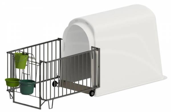 Umzäungung für CalfHouse Premium Plus und Master Plus (Hütte nicht im Lieferumfang enthalten)