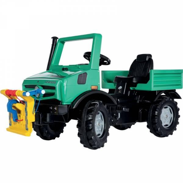 Spielen wie im echten Leben mit Rolly Toys Farmtrac Premium Forst Unimog mit Seilwinde