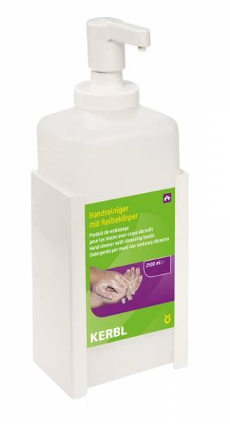 Beispiel Wandhalterung für 2500 ml Flasche Handreiniger von Kerbl