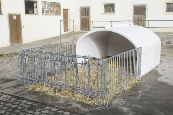 Umzäunung für CalfHouse Premium XXL - Hütte nicht im LIeferumfang enthalten