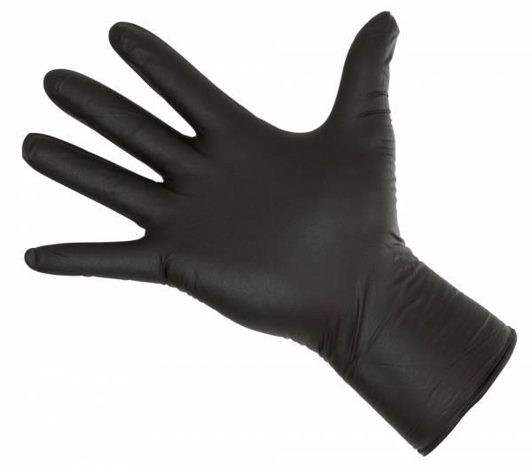 Einmalhandschuh Nitrile Long Black
