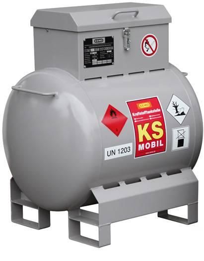 Mobile Tankanlage für Benzin KS-Mobil 200 Liter mit Handpumpe
